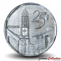 CUBA - PIECE de 25 CENTAVOS - Rue de Trinidad - 2002 Km#577