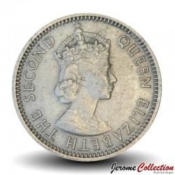 FIDJI - PIECE de 6 Pence - Tortue - 1961