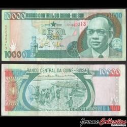 GUINEE BISSAU - Billet de 10000 Pesos - Amilcar Cabral - 1993 P15b