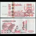 ALGERIE - Billet de 1000 Dinars - Gravures rupestres de tassili - 10.06.1998 P142b3