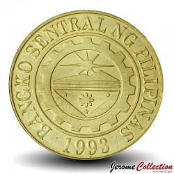 PHILIPPINES - PIECE de 25 Sentimo - Sceau de la banque centrale desPhilippines - 2010