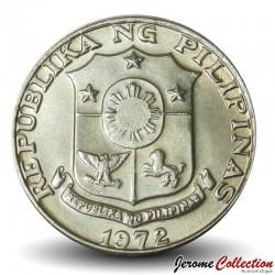 PHILIPPINES - PIECE de 25 Sentimos - Peintre Juan Luna - 1972
