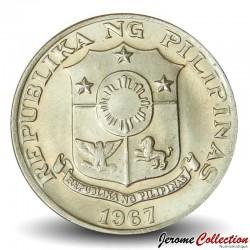 PHILIPPINES - PIECE de 10 Sentimos - Francisco Blatasar - 1967