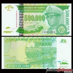 ZAIRE - Billet de 500000 Nouveaux Zaïres - GD - 30.6.1996 P78a