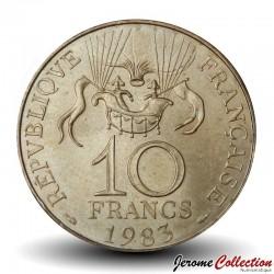 FRANCE - PIECE de 10 Francs - Conquête de l'Espace - 1983 - Tranche B
