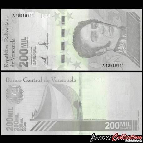 VENEZUELA - Billet de 200000 Bolivares - Mausolée de Simón Bolívar - 2020 P112a