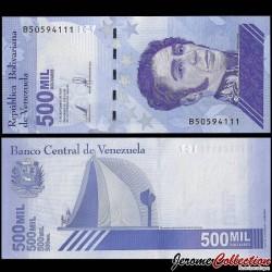 VENEZUELA - Billet de 500000 Bolivares - Mausolée de Simón Bolívar - 2020 P113a