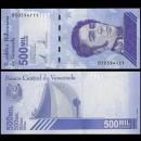 VENEZUELA - Billet de 500000 Bolivares - Mausolée de Simón Bolívar - 2020