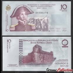 HAITI - Billet de 10 Gourdes - Sanité Belair - 2006 P272b