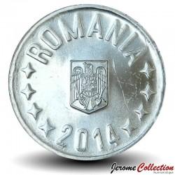 ROUMANIE - SET / LOT de 4 PIECES - 1 5 10 50 BANI - 2014