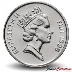 FIDJI - PIECE de 5 Cents - Poisson - Fao - 1995