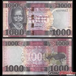 SUD SOUDAN - BILLET de 1000 Livres Soudanaise - Autruche - 2020 P17a