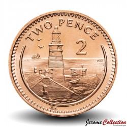GIBRALTAR - PIECE de 2 Pence - Phare de Gibraltar - 1995 Km#774