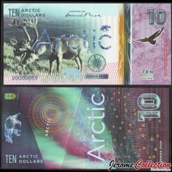 ARCTIC - Billet de 10 ARCTIC DOLLARS - Renne - 2020 0010