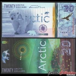 ARCTIC - Billet de 20 ARCTIC DOLLARS - Ours Polaire - 2020 0020