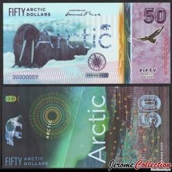 ARCTIC - Billet de 50 ARCTIC DOLLARS - Morse - 2020 0050