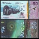ARCTIC - Billet de 50 ARCTIC DOLLARS - Morse - 2020