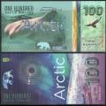 ARCTIC - Billet de 100 ARCTIC DOLLARS - Beluga - 2020 0100