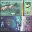 ARCTIC - Billet de 100 ARCTIC DOLLARS - Beluga - 2020