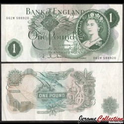 ROYAUME UNI - Billet de 1 Pound - Britannia - 1987