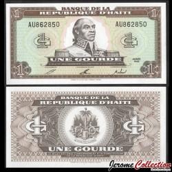 HAITI - Billet de 1 Gourde - François-Dominique Toussaint Louverture - 1992 P259a