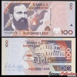 ALBANIE - Billet de 100 Leke - Theofan Stilian Noli - 1996 P62a