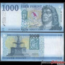HONGRIE - Billet de 1000 Forint - Roi Matthias - 20121 P203c