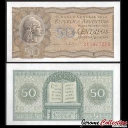 ARGENTINE - Billet de 50 Centavos - Constitution nationale - 1951 P261a1