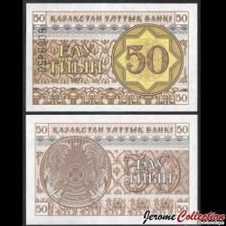 KAZAKHSTAN - Billet de 50 Tiyn - 1993 P6b