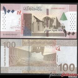 SOUDAN - BILLET de 100 Livres Soudanaise - 2021 P77b