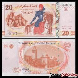 TUNISIE - Billet de 20 Dinars - Kheireddine Pacha - 2011 P93b