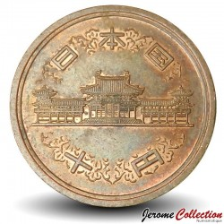 JAPON - PIECE de 10 Yen - Temple de Byōdō-in - 1979 Y#73