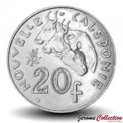 NOUVELLE CALEDONIE - PIECE de 20 Francs - Bétail - 2008 Km#12a