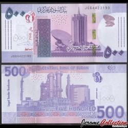 SOUDAN - BILLET de 500 Livres Soudanaise - Tour National Télécommunications Corporation - 2021 P79b