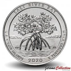 ETATS UNIS / USA - PIECE de 25 Cents - America the Beautiful - Salt River Bay - Îles Vierges des États-Unis - 2020 - S Km#New