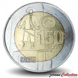 PHILIPPINES - PIECE de 10 Piso - Miguel Malvar - 2015