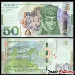 GEORGIE - Billet de 50 Lari - Reine Tamara - 2020 P79b