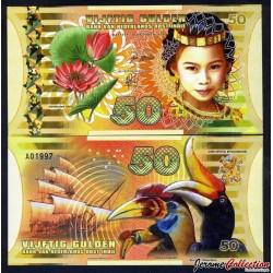 INDES ORIENTALES NÉERLANDAISES - Billet de 50 Gulden - 2016 0050