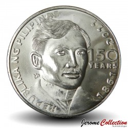 PHILIPPINES - PIECE de 1 Piso - José Rizal - 2011 Km#284