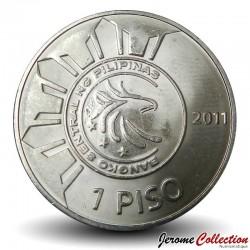 PHILIPPINES - PIECE de 1 Piso - José Rizal - 2011