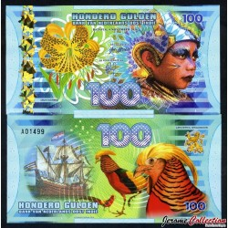 INDES ORIENTALES NÉERLANDAISES - Billet de 100 Gulden - 2016 0100