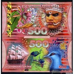 INDES ORIENTALES NÉERLANDAISES - Billet de 500 Gulden - 2016 0500