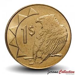 """NAMIBIE - PIECE de 1 Dollar - Aigle """"Bateleur des savanes"""" - 2010 Km#4"""