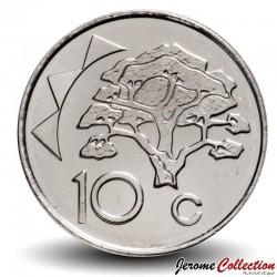 "NAMIBIE - PIECE de 10 Cents - Arbre Acacia erioloba ""Camelthorn"" - 2012 Km#2"