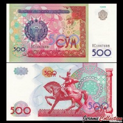 OUZBEKISTAN - Billet de 500 Som - 1999