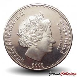 ILE GOUGH / TRISTAN DA CUNHA - PIECE de 10 Pence - Petrel - 2009