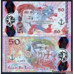 PORTUGAL / AFRICA PORTUGUESA - Billet de 50 Escudos - Bartolomeu Dias - Polymer - 2017