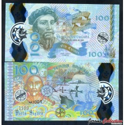 PORTUGAL / BRASIL PORTUGUES - Billet de 100 Escudos - Pedro Álvares Cabral - Polymer - 2017