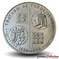 PORTUGAL - PIECE de 200 Escudos - Traité de Tordesillas - 1994