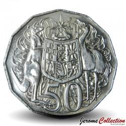 AUSTRALIE - PIECE de 50 Cents - Armoiries de l'Australie - 2017 Km#404